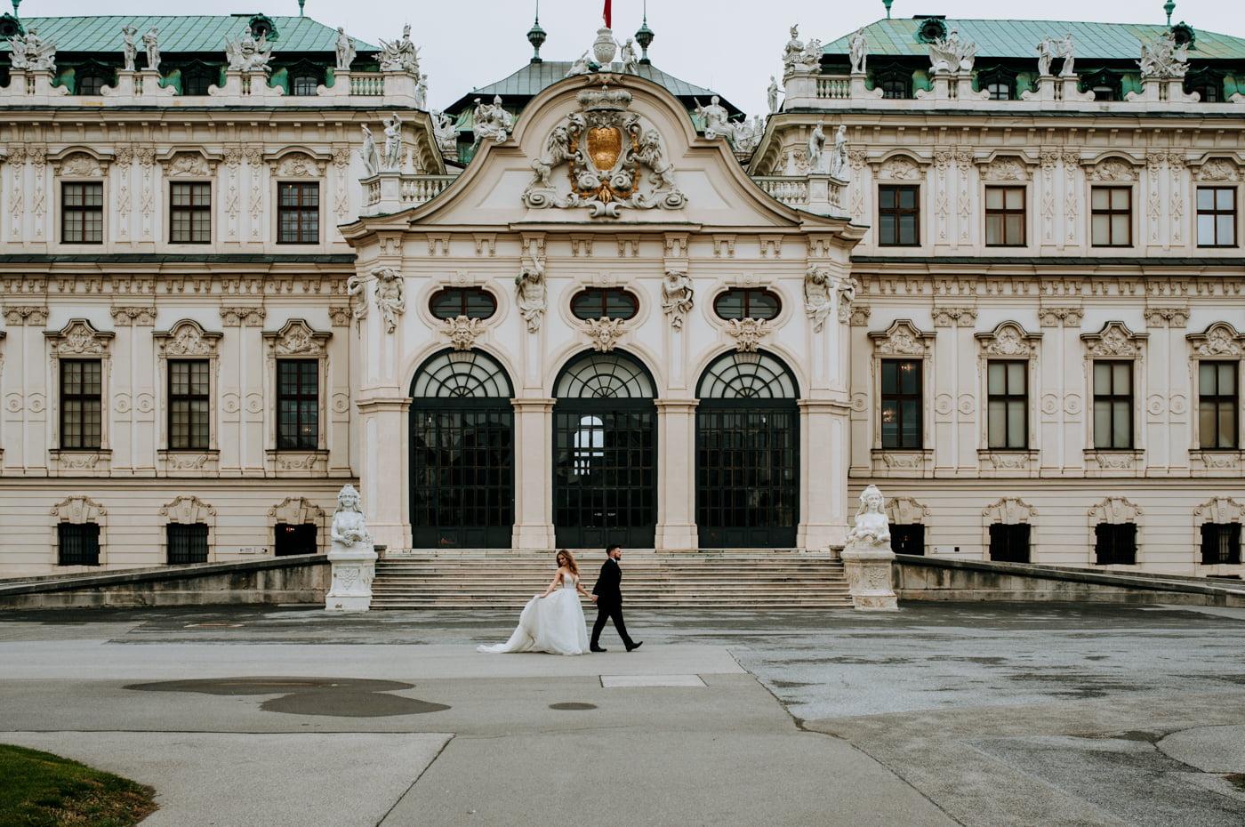 Sesja Ślubna w Wiedniu - Ania i Tomek 22