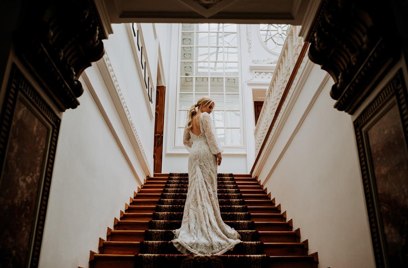 Sesja ślubna w Pałacu- Angelika i Kamil 5