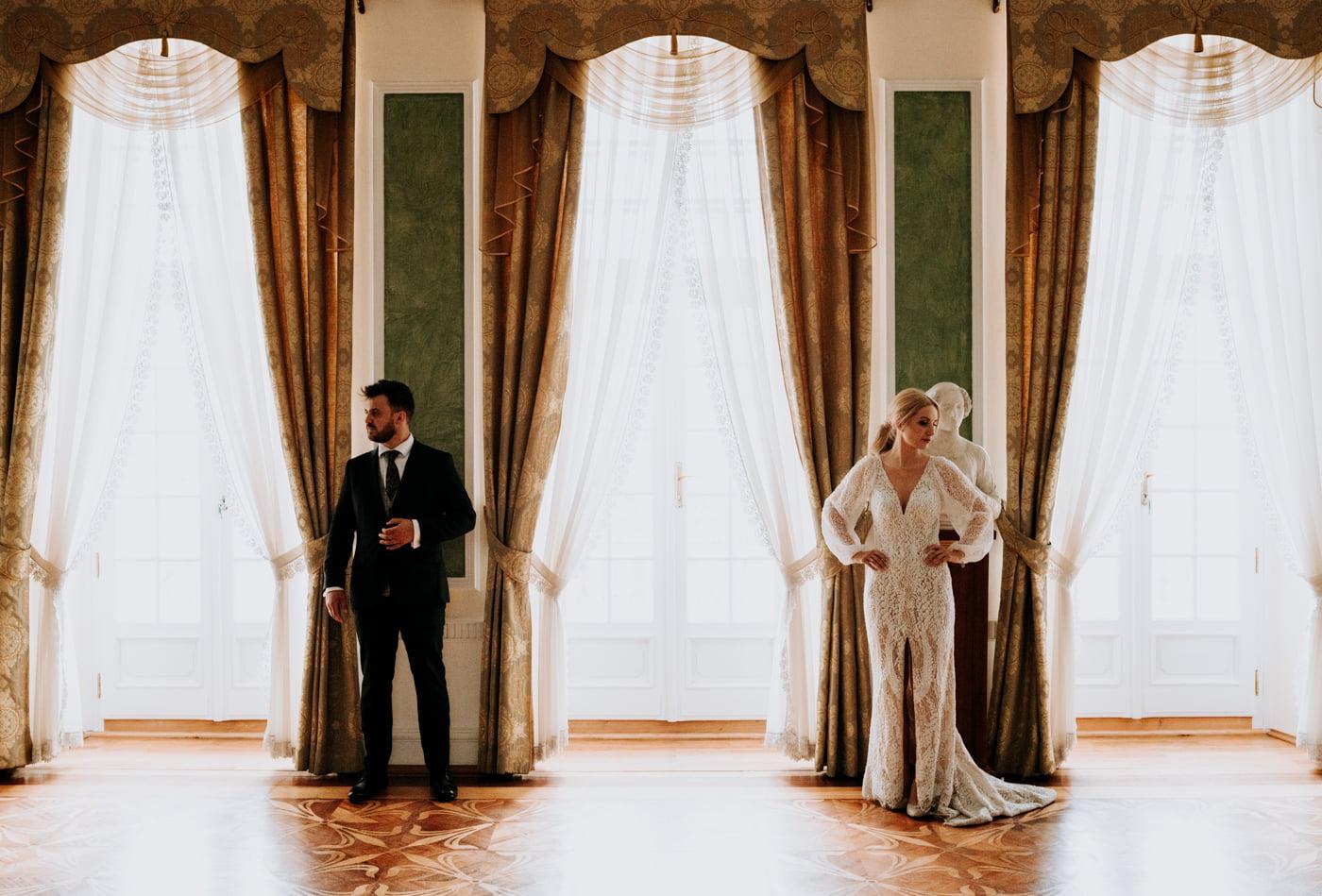Sesja ślubna w Pałacu- Angelika i Kamil 16
