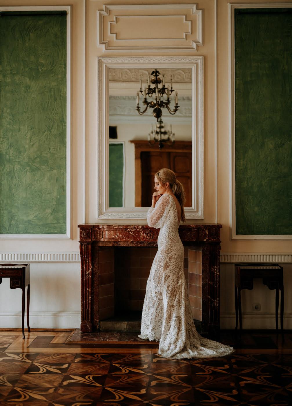 Sesja ślubna w Pałacu- Angelika i Kamil 17
