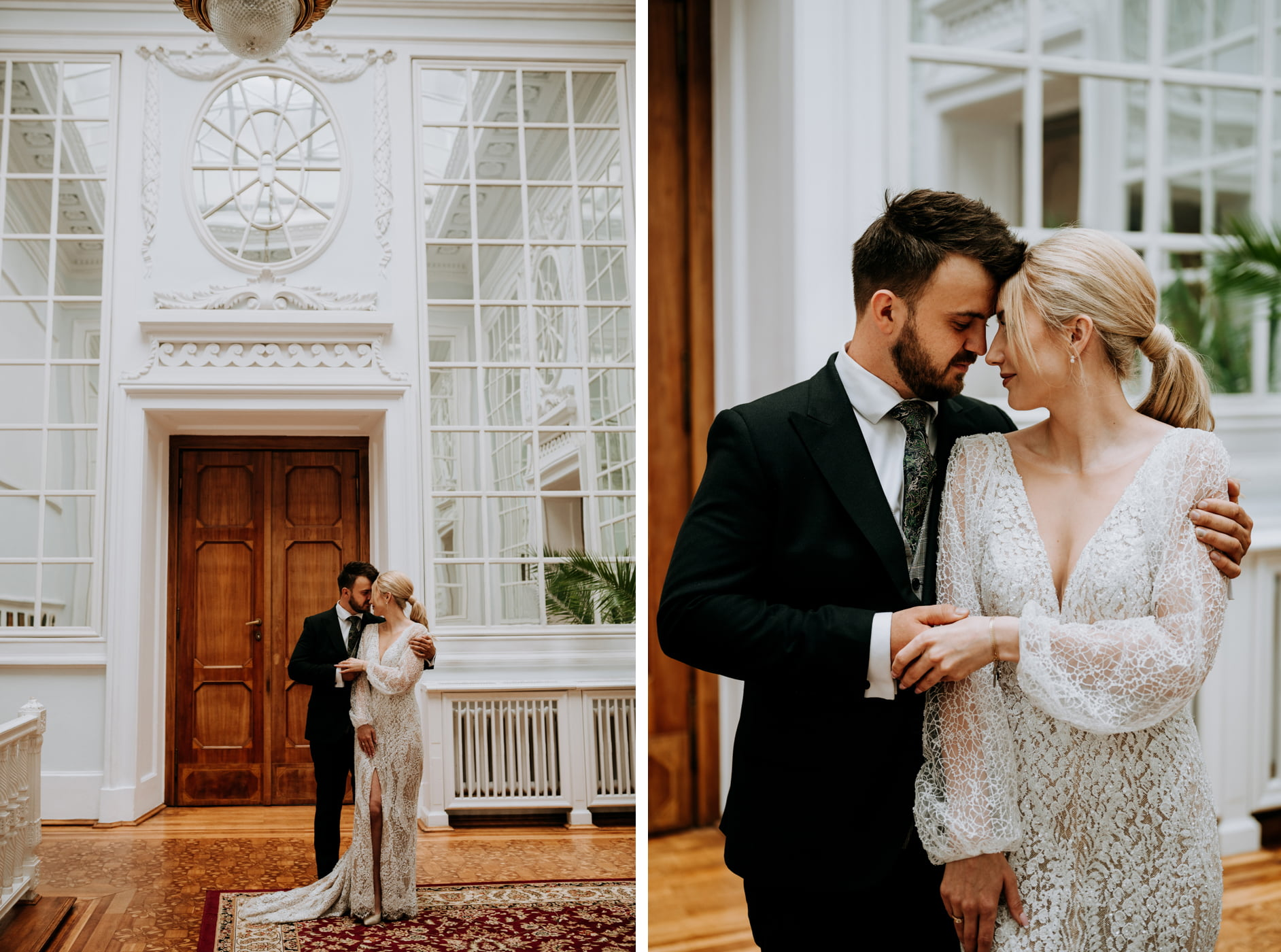 Sesja ślubna w Pałacu- Angelika i Kamil 4