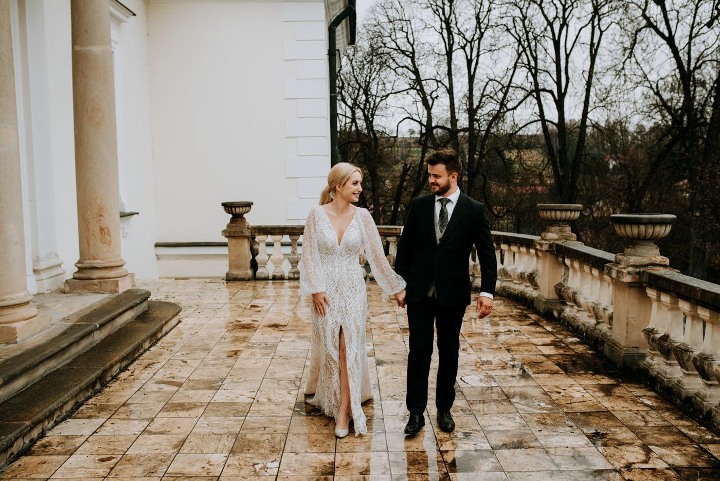 Sesja ślubna w Pałacu- Angelika i Kamil 26