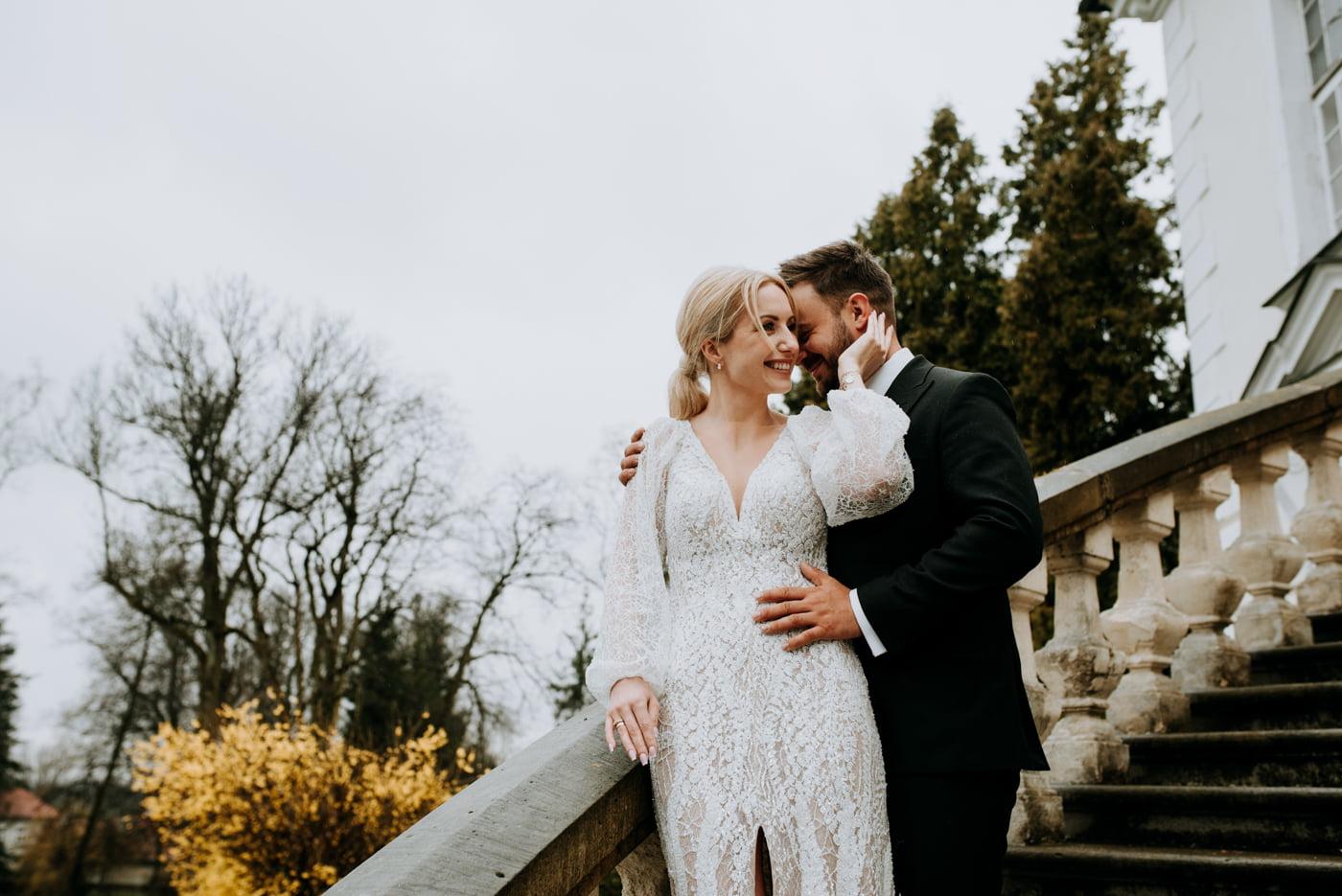 Sesja ślubna w Pałacu- Angelika i Kamil 29