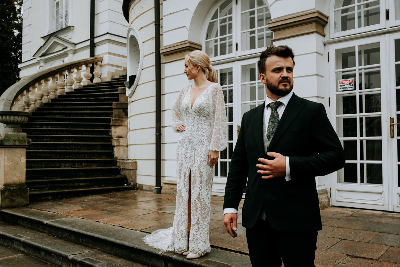 Sesja ślubna w Pałacu- Angelika i Kamil 32