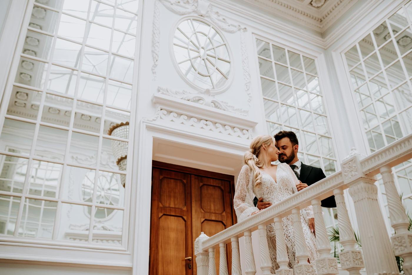 Sesja ślubna w Pałacu- Angelika i Kamil 10