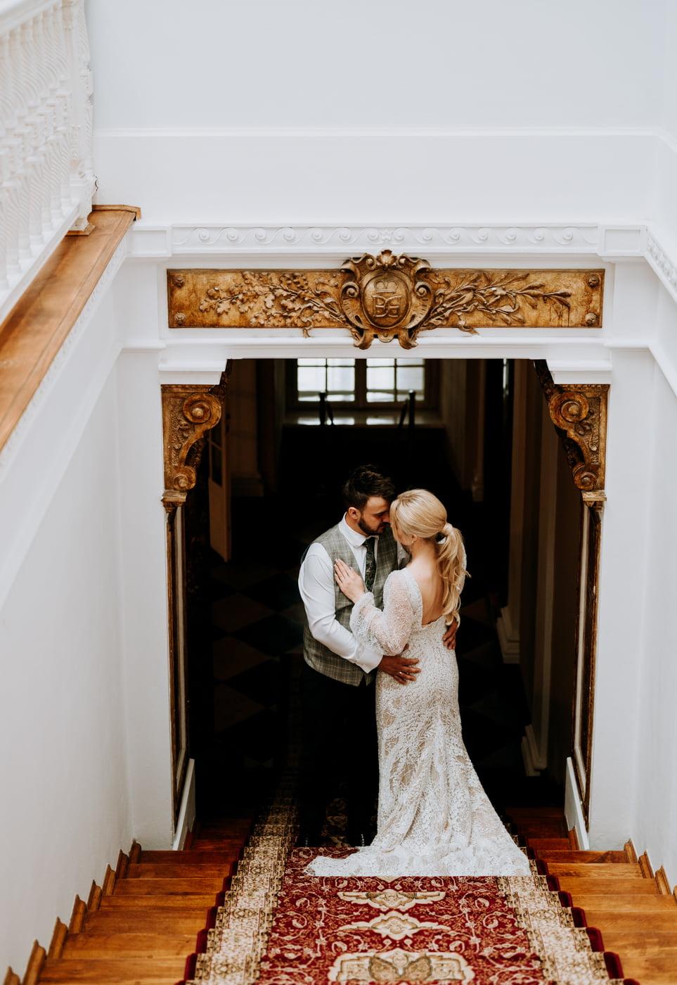 Sesja ślubna w Pałacu- Angelika i Kamil 13